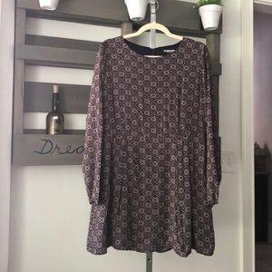 Fashion Union ASOS shift long sleeve dress US 14